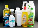 Household chemicals, pesticides, insecticides, fungicides