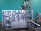 Pouch Forming and Filling Machine