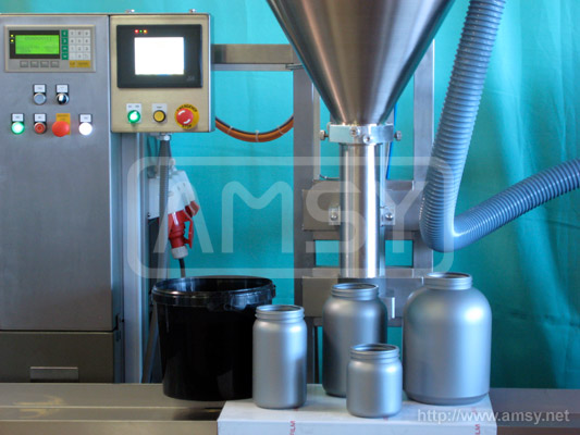 Complete Powder Filling Lines Amsy